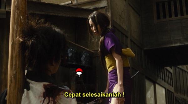 Screenshots Download Film Gratis Mugen No Junin (2017) BluRay 480p MP4 Subtitle Indonesia 3GP Nonton Film Gratis Free Full Movie Streaming