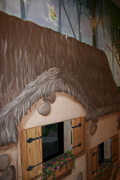 Bawden Fine Murals Cottage Playhouse In Fairy Fantasy