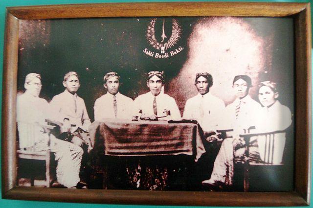 Foto para pendiri Jong Java di arsip Museum Sumpah Pemuda