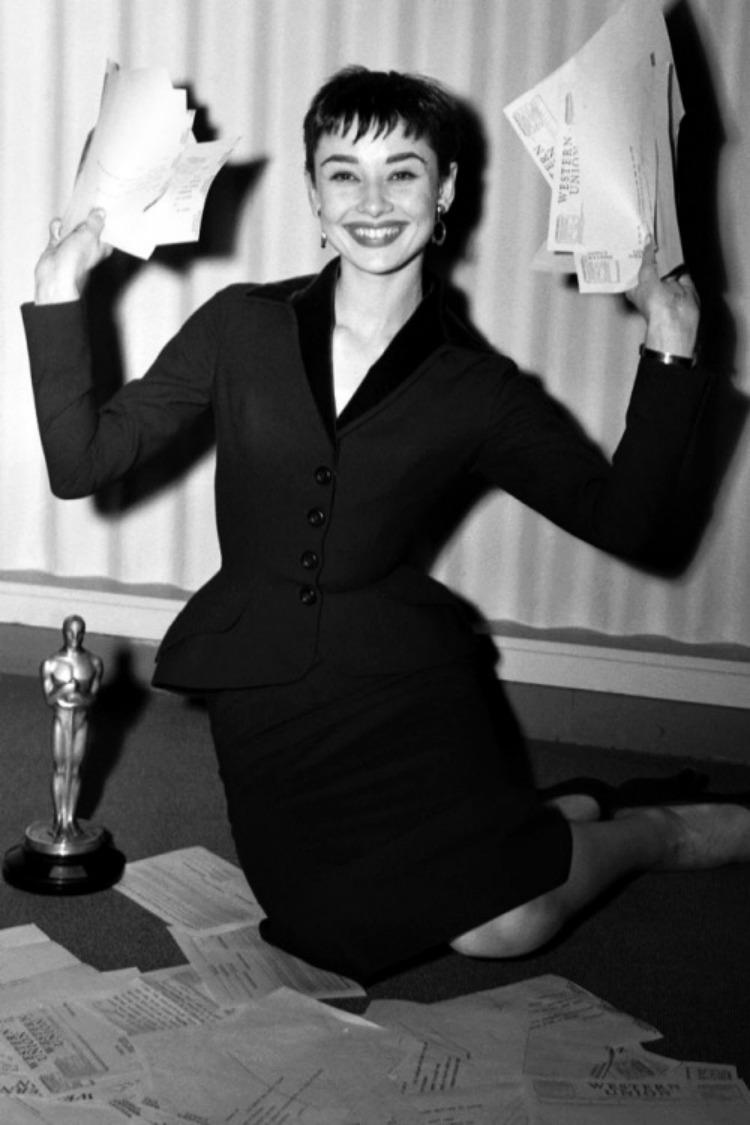 A Vintage Nerd Audrey Hepburn Letter Writing Vintage Blog