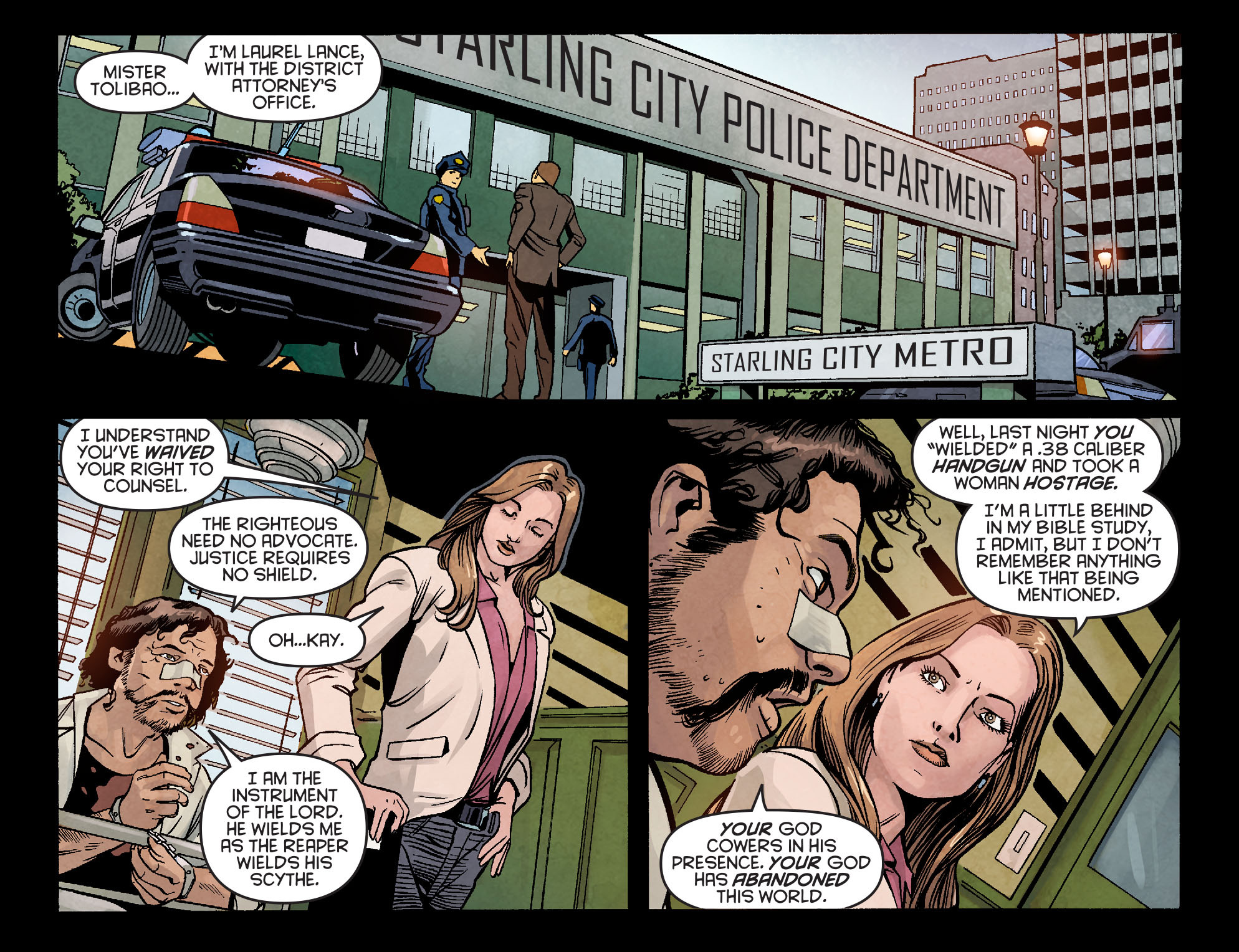Read online Arrow: Season 2.5 [I] comic -  Issue #5 - 3