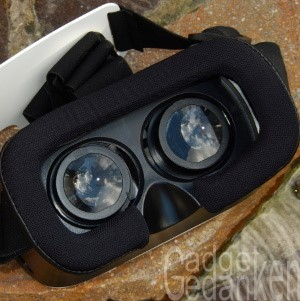 SimbR VR-Brille: Polsterung für den Kontakt mit dem Gesicht