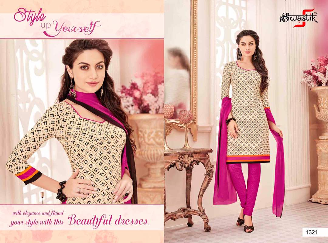 Swastik Vol 32 – Stylish Designer Awesome Dress Material Buy Online