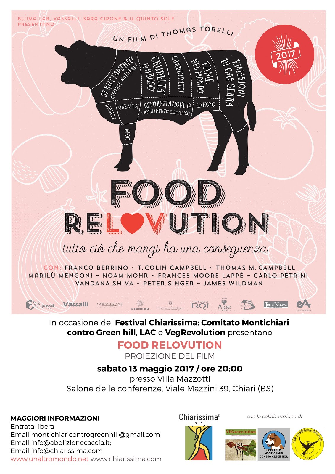 proiezione film FOOD RELOVUTION