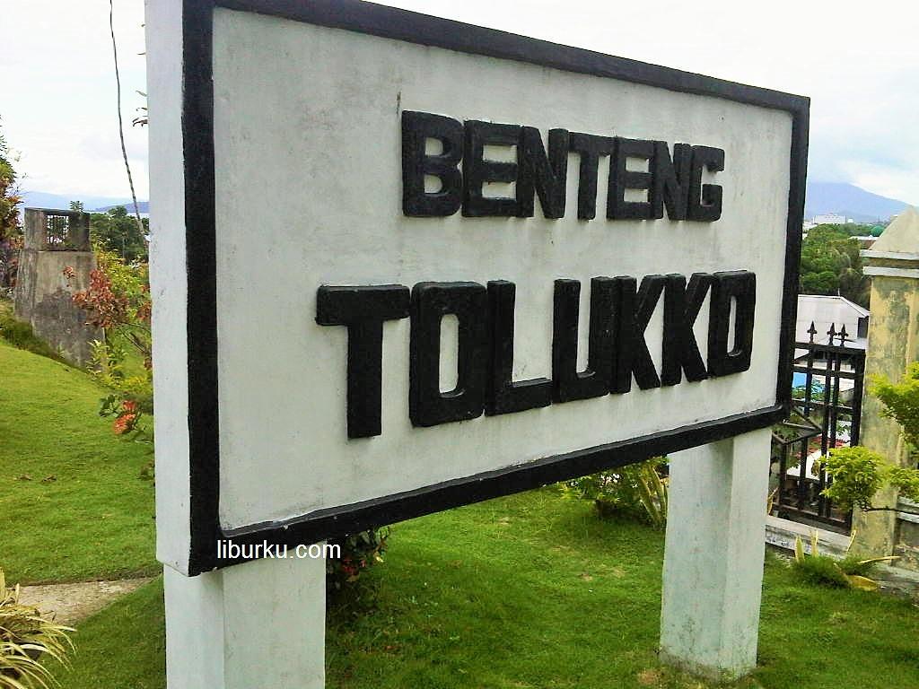 Benteng Tolukko Ternate wisata Sejarah Ternate