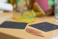 Autumn crafts, Secret Squirrel Supper Club, Cardiff, www.imogenmolly.co.uk