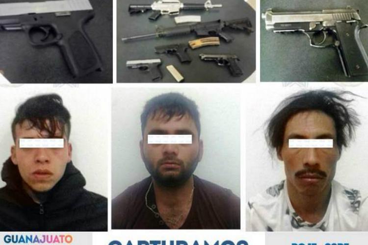 Caen tres sicarios que atacaron Agencia del MP en Guanajuato