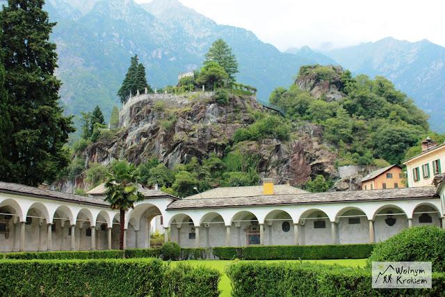 Chiavenna Ruiny Zamku