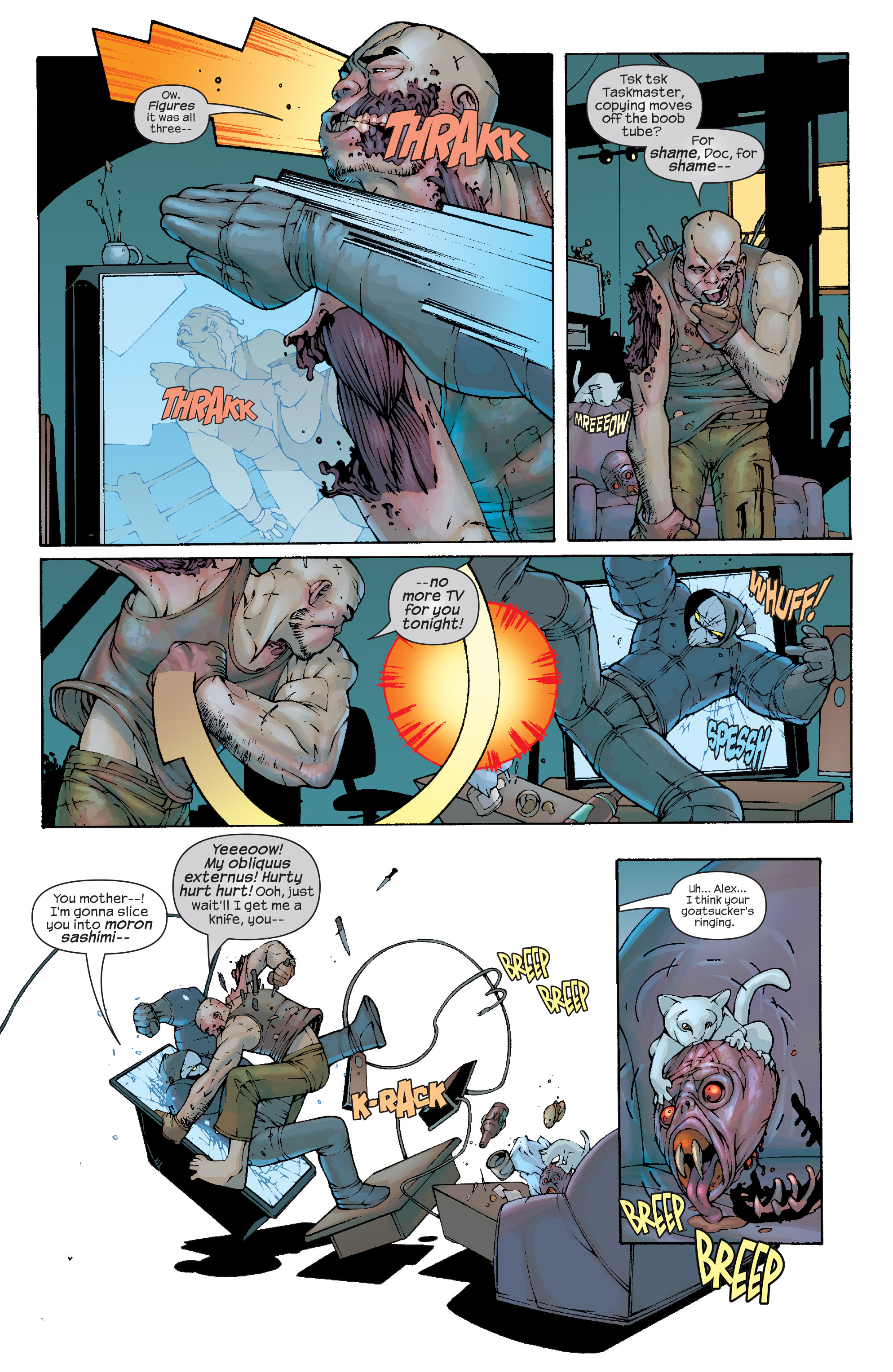 Read online Agent X comic -  Issue #10 - 6