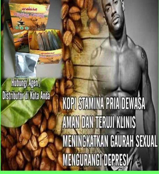 kopi stamina pria pengganti obat kuat
