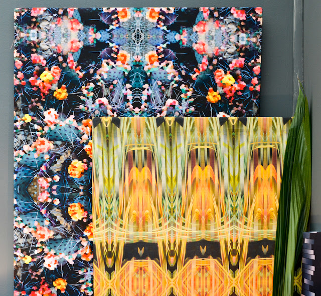 Parris Wakefield's painterly, graphic fabrics at Decorex during London Design Festival 2016 #LDF16