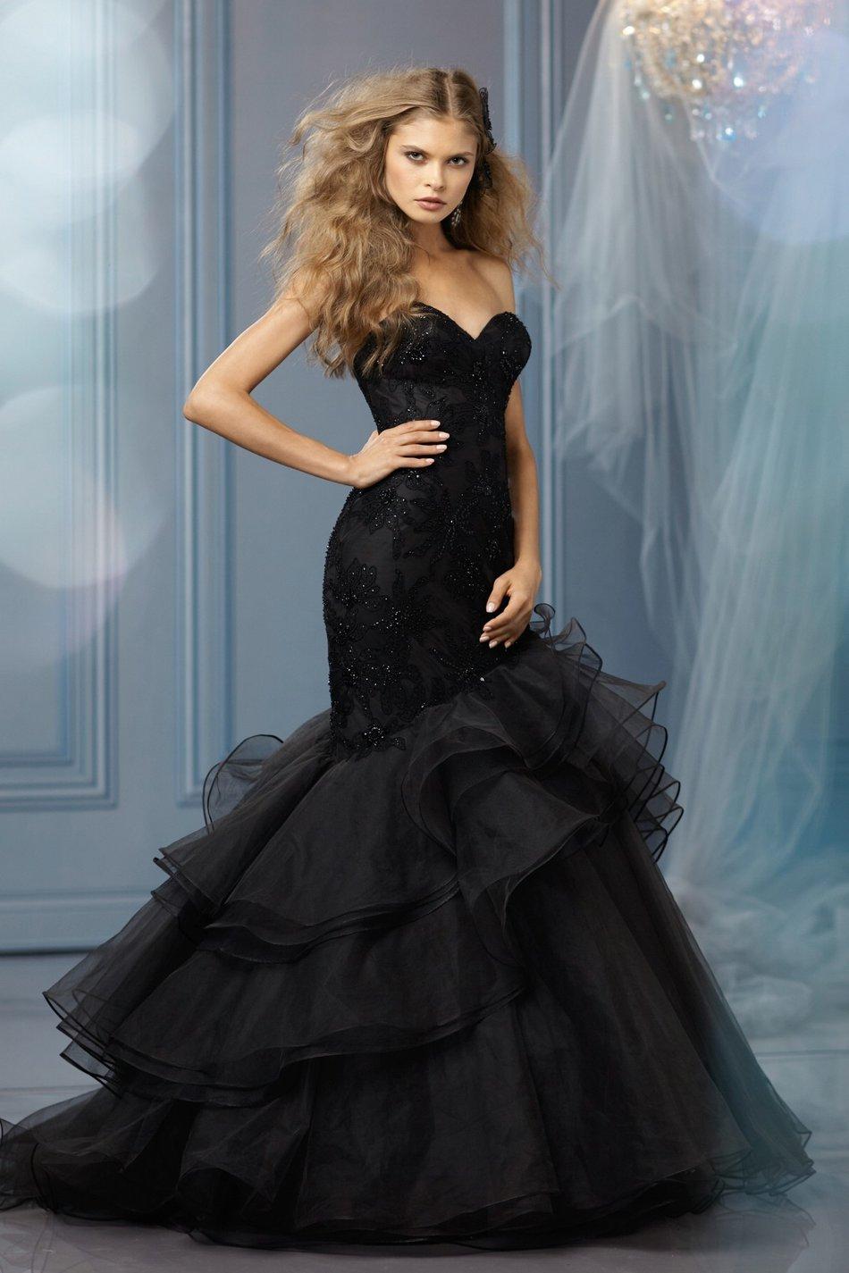 1ce65d95475 Черные свадебные платья  дьявольские или гламурные  - My Press-Release