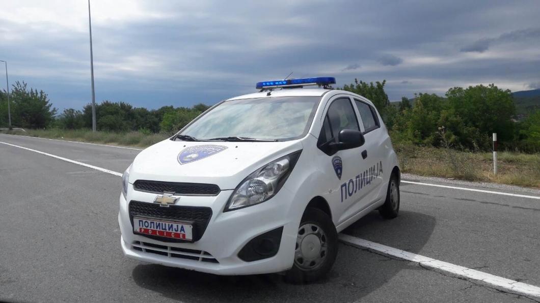 Mazedonische Polizei