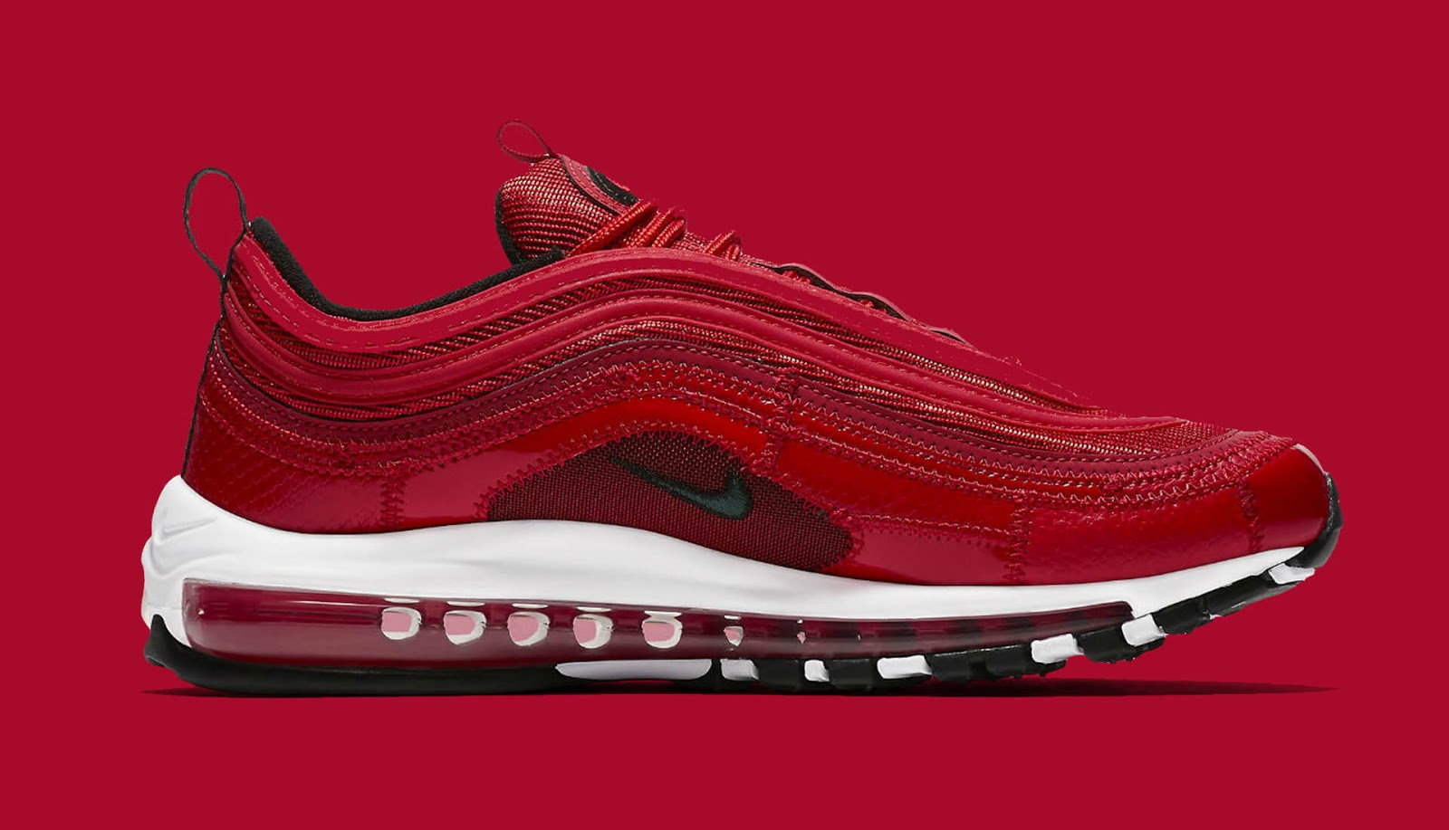 Nike Air Max 97 Bottes Rouges Cr7