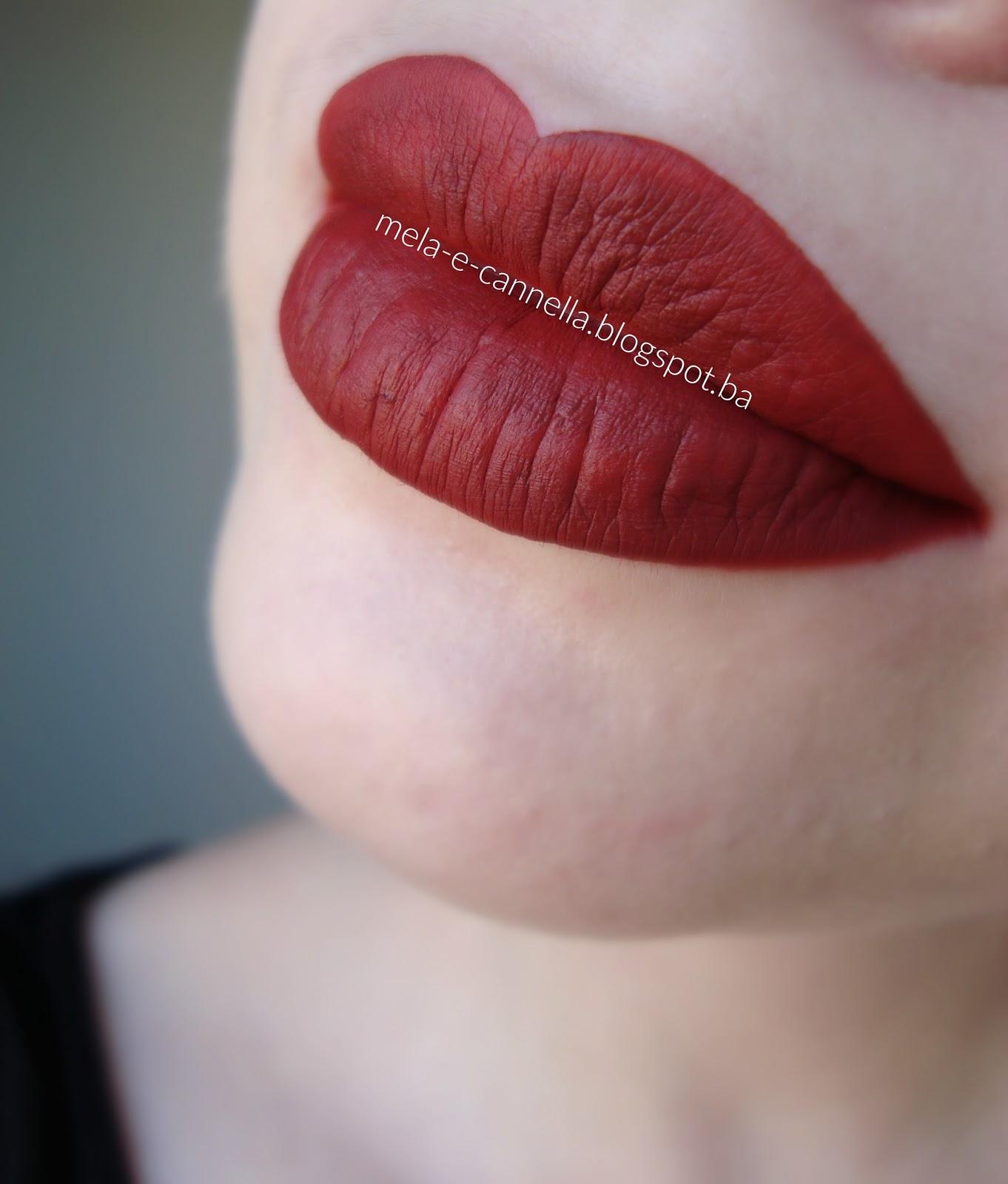 Mela E Cannella Golden Rose Longstay Liquid Matte Lipstick
