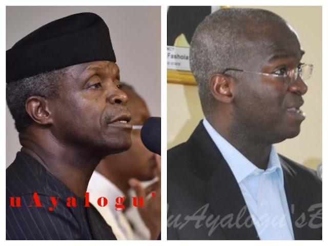 Osinbajo stops Fashola from inaugurating more directors