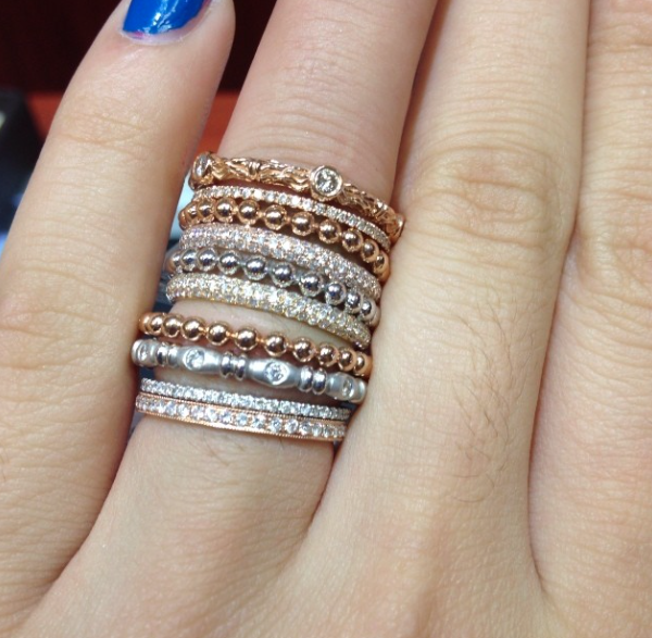 Tiffany Celebration Rings Novo Stackable Bands Best Jewelry