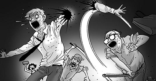 Silent Horror chap 83: Kẻ bị truy nã