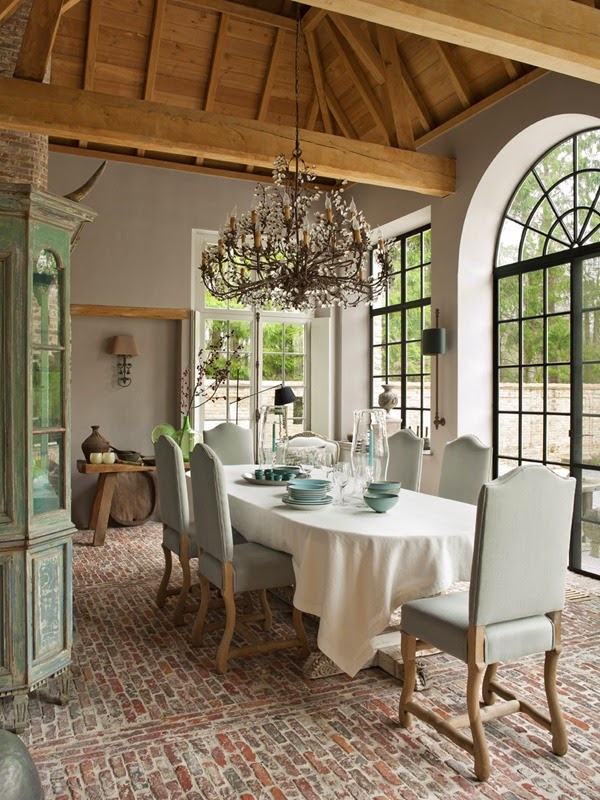 dining rooms that inspire/lulu klein