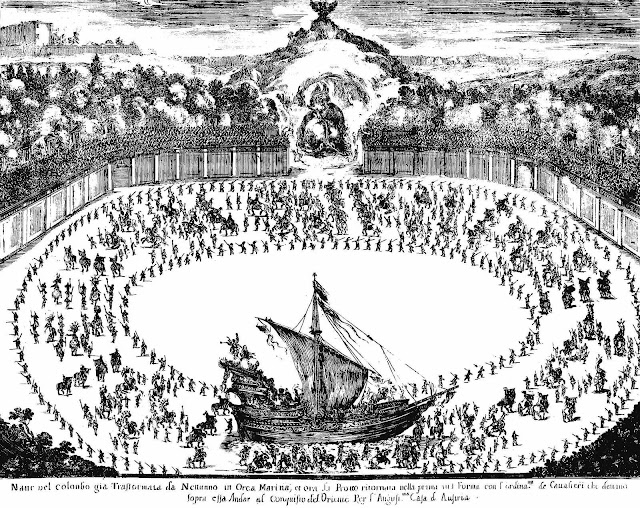 1652 spectacle with audience