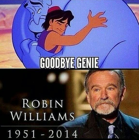 death of Robin Williams 1951-2014