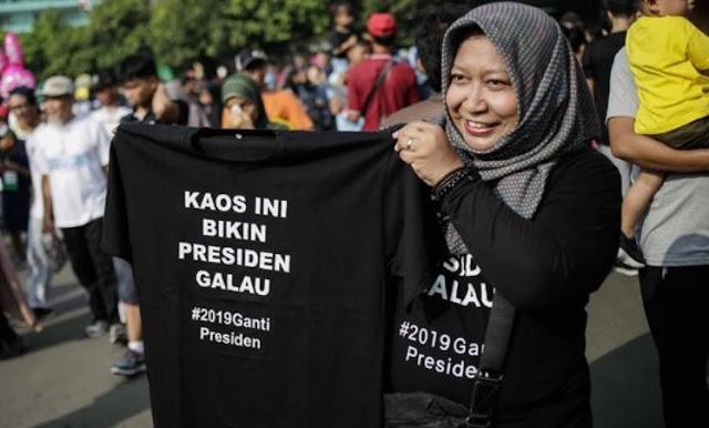 Ingat, #2019GantiPresiden Sudah Ada Sebelum Prabowo-Sandiaga