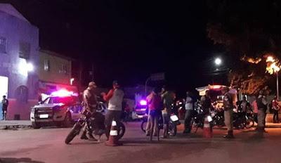 Polícia Militar sacode bairros de Alagoinhas em grande operação
