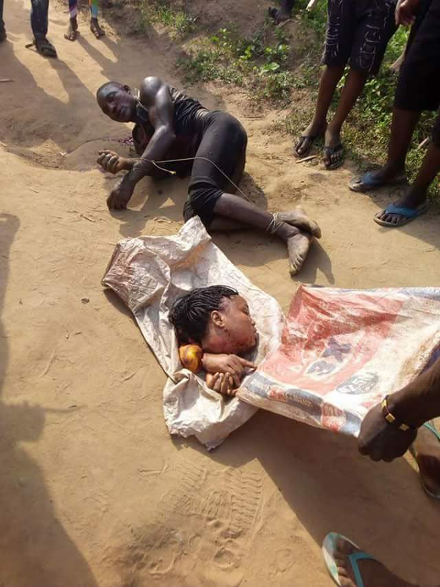Graphic: Man beheads pretty girl for ritual in Badagry, Lagos