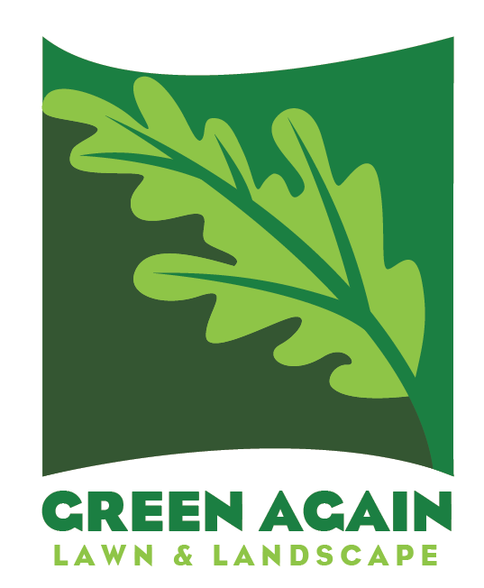 carrdiac design  green again lawn and landscape logo mocks