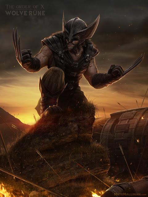 Wolverine, por Nate Hallinan
