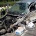 Ruta 22: Un conductor salvó su vida de milagro luego de protagonizar un accidente a la altura de Allen