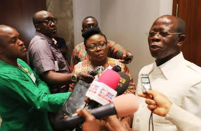 Oshiomhole Reacts To Killings, Gov. Ortom's Exit From APC