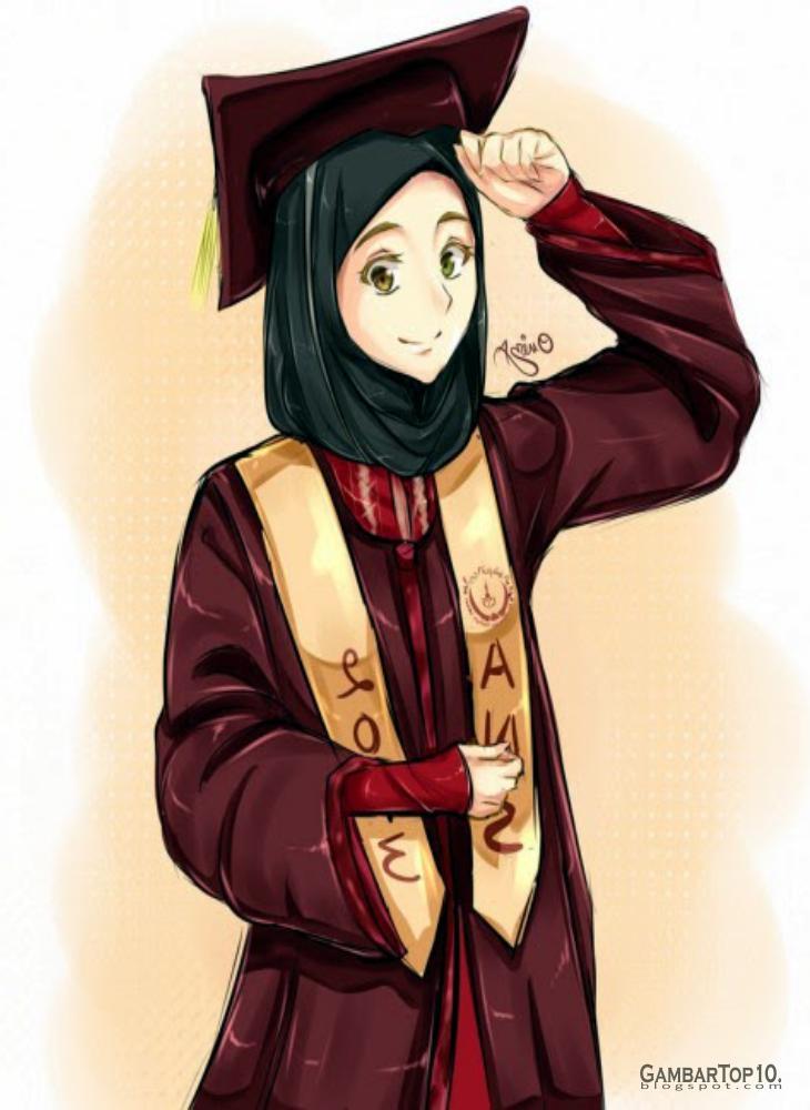 Ana Muslimah Cute Wallpaper 10 Gambar Kartun Muslimah Gambar Top 10