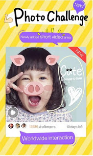 Apk Terbaru Camera360 v7.3 2016 Funny Stickers