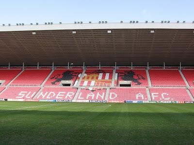 Sunderland, England, Stadium of Light,