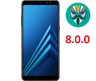 طريقة عمل روت لجهاز Galaxy A8 2018 Plus SM-A730F اصدار 8.0.0