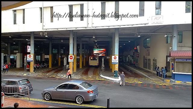 Stasiun Bis Komtar Penang Malaysia | Catatan Perjalanan Penang