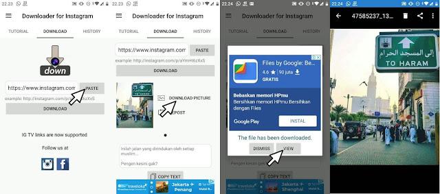 Cara Download Foto Video IGTV Di Instagram Cara 1