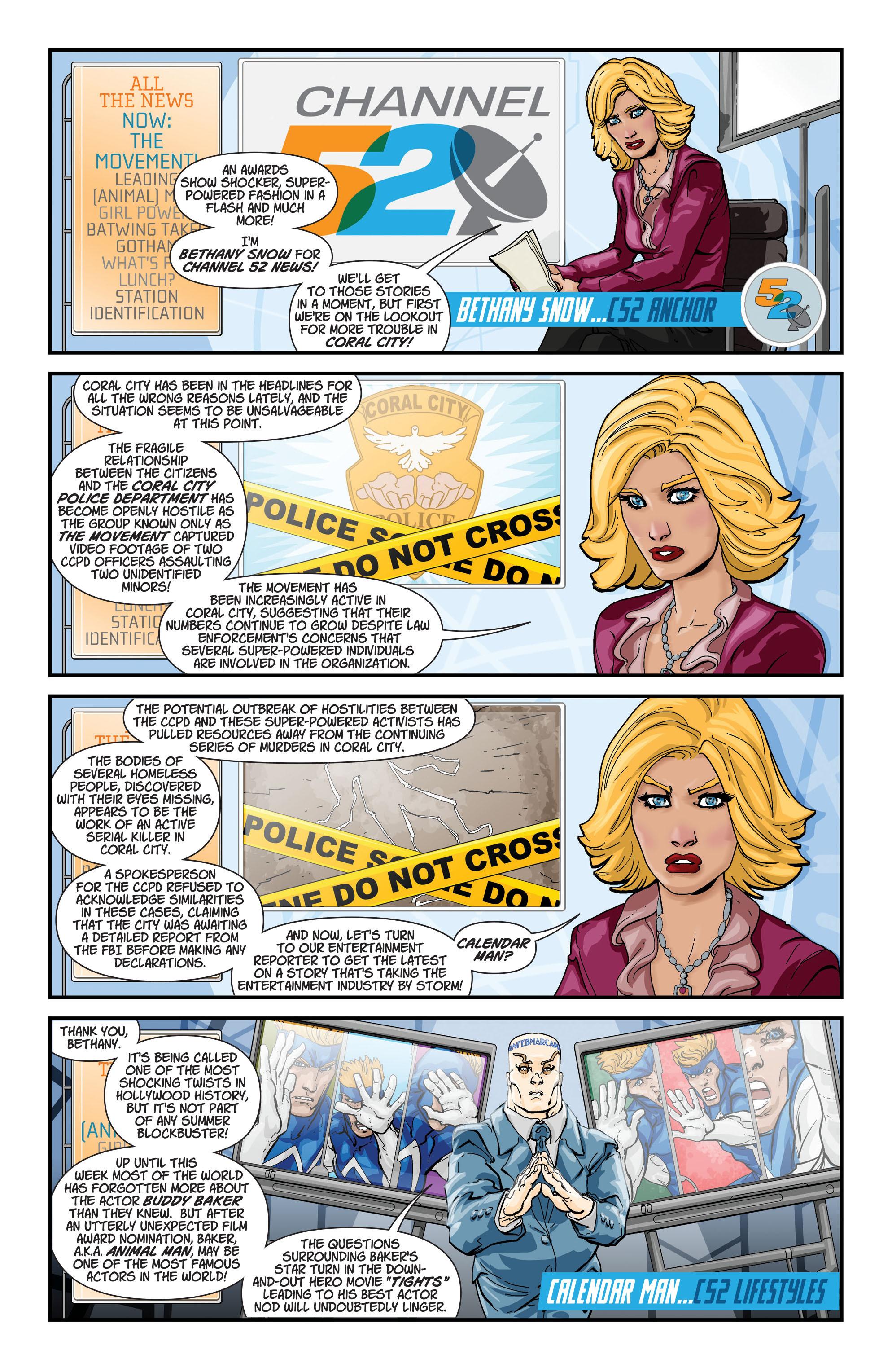 Read online Aquaman (2011) comic -  Issue #19 - 22
