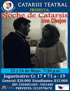 Noche de Catarsis con Chejov | Teatro Jugueteatro