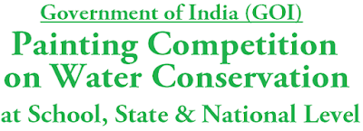 Painting and Essay Writing Competition,Water Conservation,School State National Level