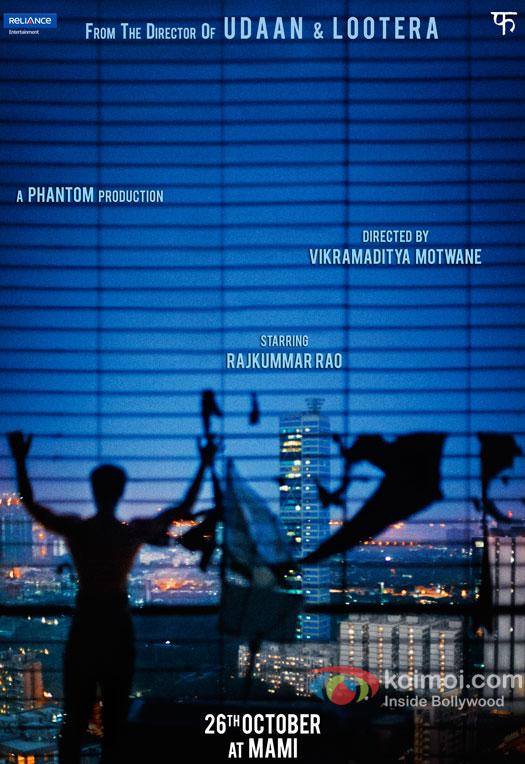 Vikramaditya Motwane next movie first look, Poster of Rajkumar Rao download first look Poster, release date