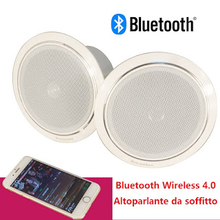 set diffusori da soffitto bluetooth