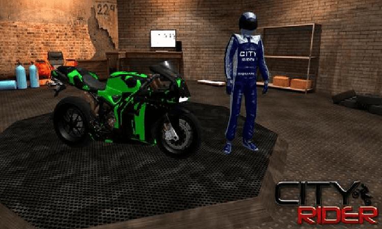 تحميل لعبة الموتوسيكلات City Moto Racer