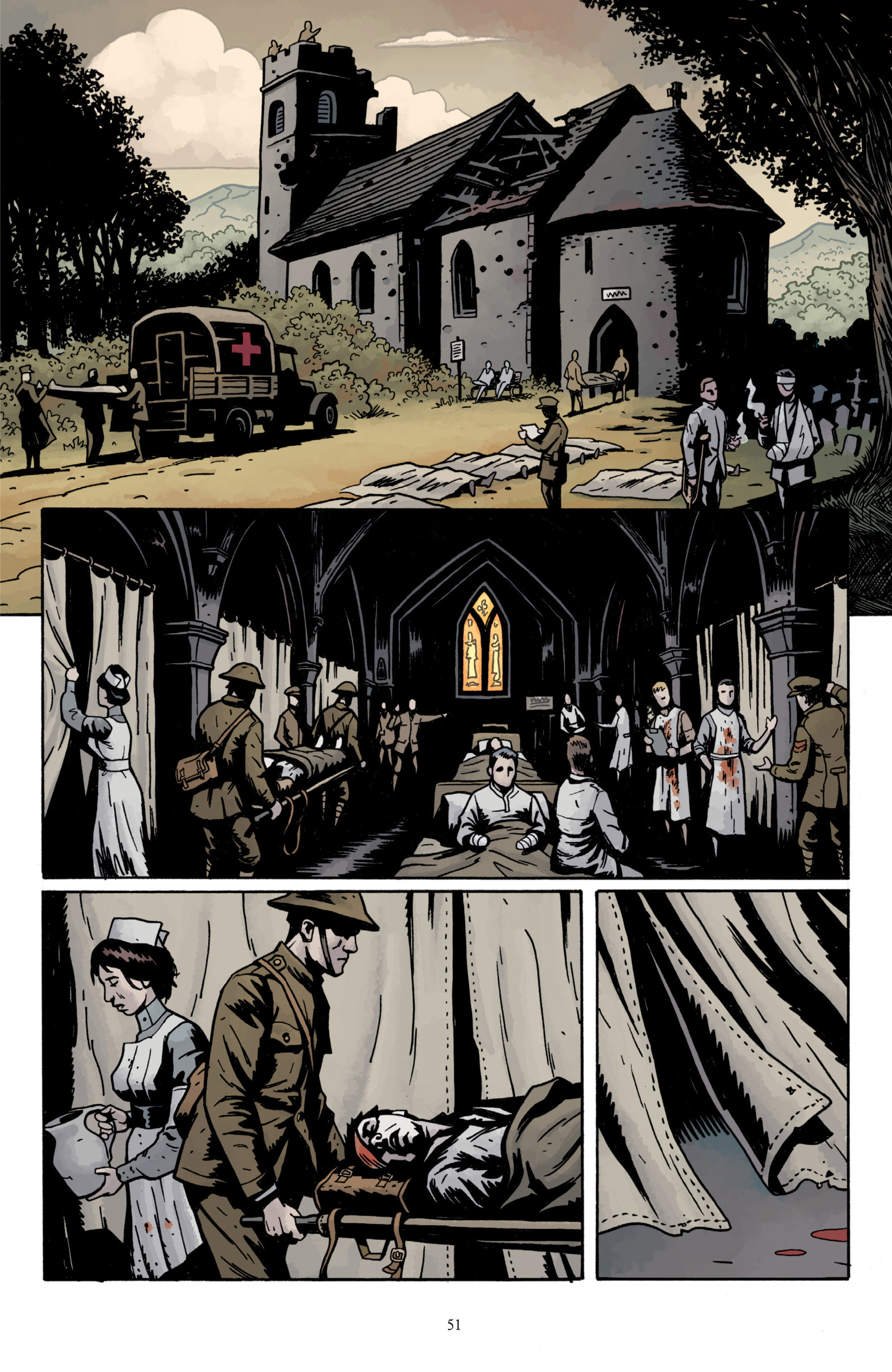 Read online Baltimore: The Plague Ships comic -  Issue # TPB - 53