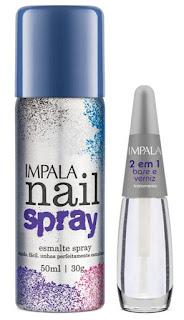 Coleção Nail Spray
