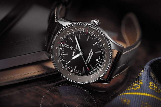Breitling Navitimer 1 Automatic 38 - Stainless-steel, black dial