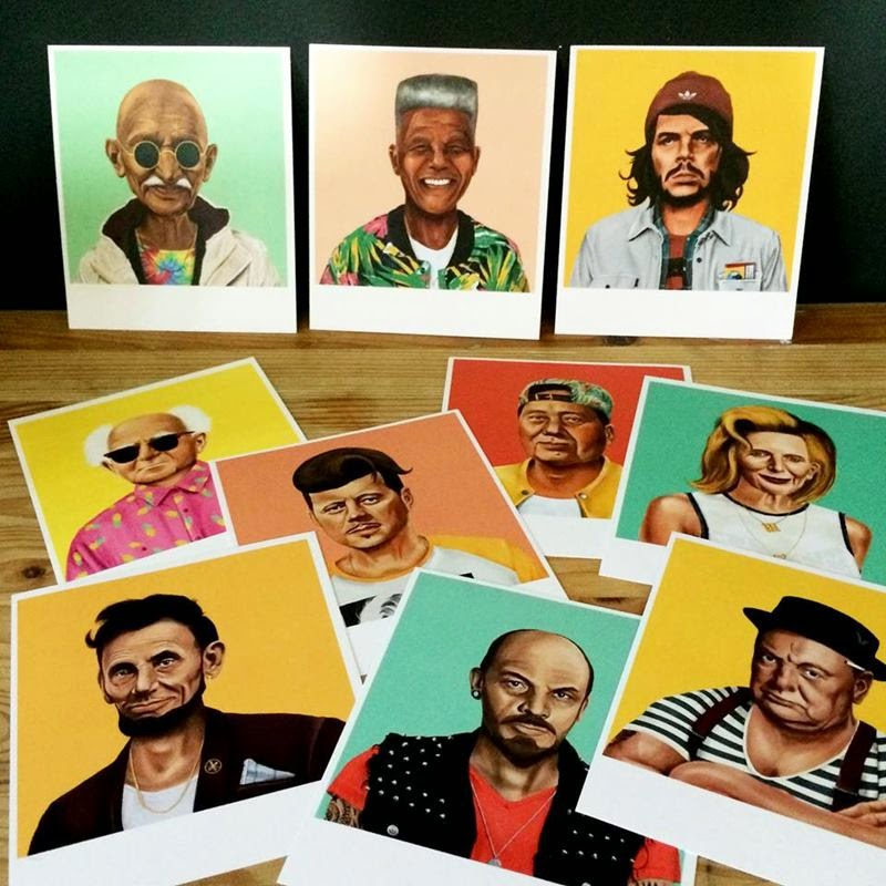 World Leaders Recreated As Hipsters By Amit Shimoni