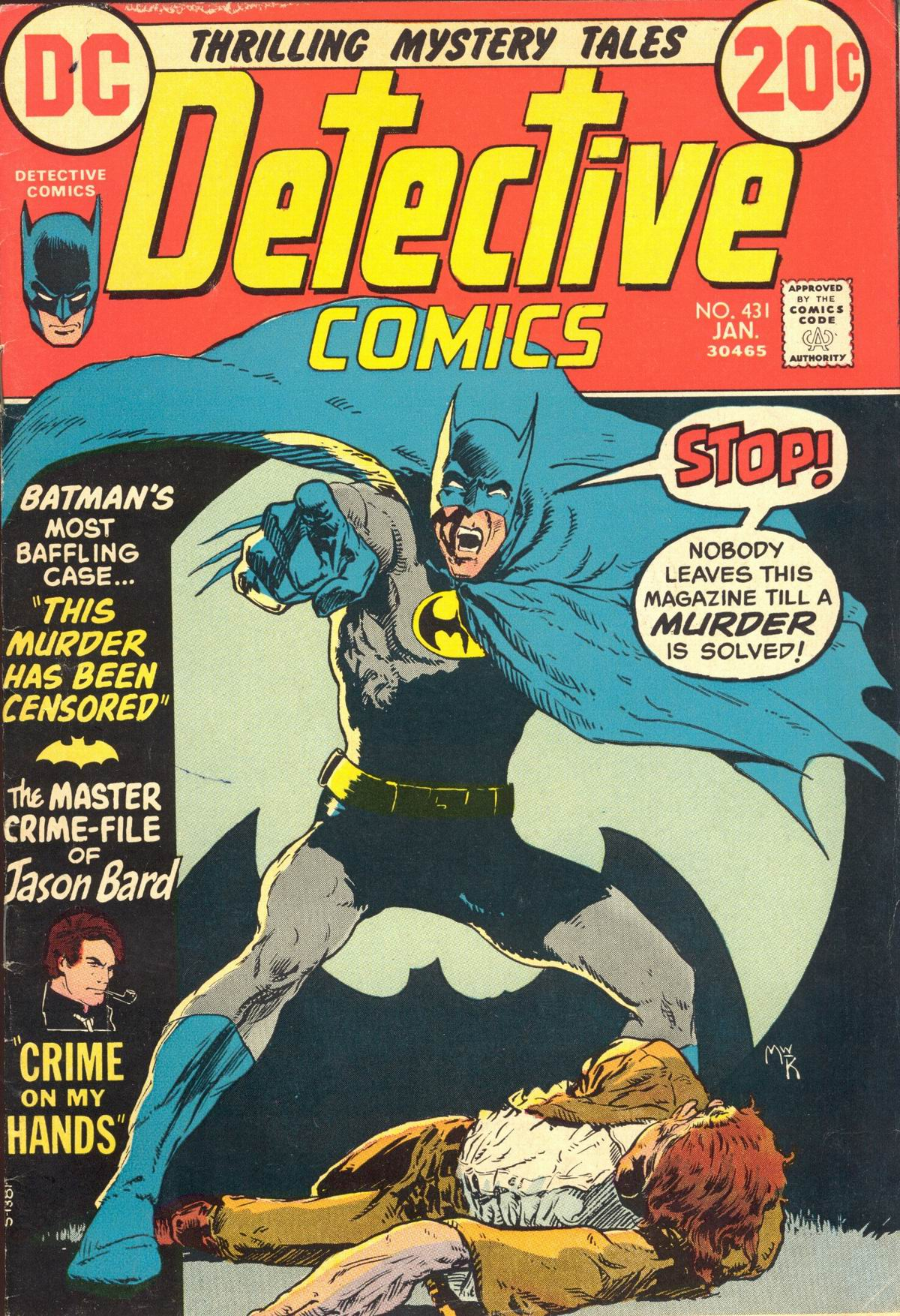 Detective Comics (1937) 431 Page 1