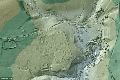 Roman roads discovered using lidar